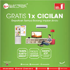 Small Picture Free 1X Installment with Home Credit Indonesia at Electronic