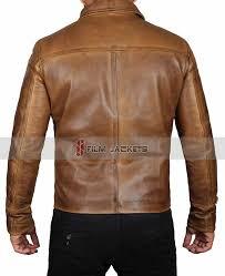 camel leather men s jacket