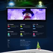 Free Christmas Website Templates Free Template 272 Christmas Night