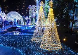 Christmas Light Tours Around Nashville, TN
