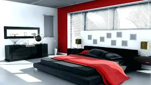 Black And Grey Bedroom Designs Red Bedrooms Ideas Gray Red Black And