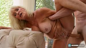 Beautiful mature blonde Leah LAmour craves a cock Shameless