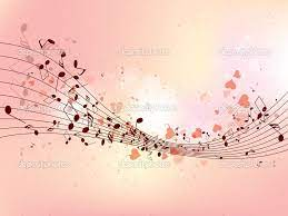 Music notes background ...