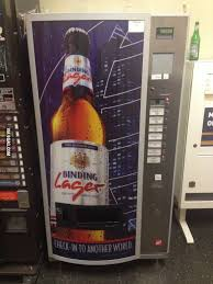 Beer Bottle Vending Machine Mesmerizing A Vending Machine For Beer Where Germany Of Course 48GAG