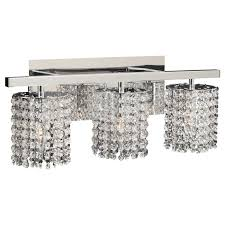 plc lighting 72194 pc polished chrome three light crystal bathroom vanity light fixture from the rigga collection lightingdirect com