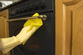 how to clean oven door glass guide