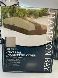 hampton bay universal chaise patio