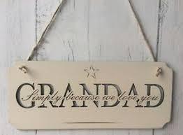 image is loading grandad hanging wood plaque birthday present grandad fathers