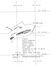 Charleston Harbor Chart 11524 F00457 Nos Hydrographic Survey Charleston Harbor South