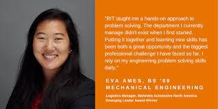 Meet Eva Ames... - RIT Kate Gleason College of Engineering | Facebook