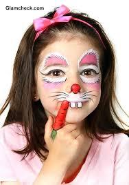 bunny face paint face paint a costume makeup for kids bunny cute costumes costumes costumes
