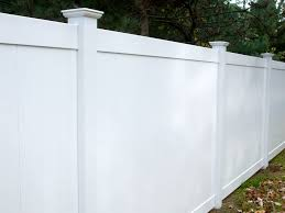 Vinyl solid picket fence Wall Richmond Solid 400 Series Pinterest Vinyl Fence Packages Store Colonial Fence Co Norfolk Ma