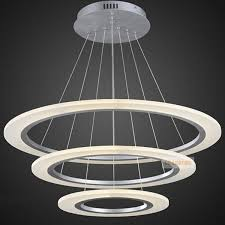 traditional circle ring led modern chandelier light fixture intended for led lights design 15