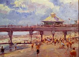 at the pier 20 x 16 oil grand prize
