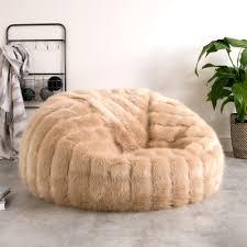 Faux Fur Bean Bag Target : Come Right Fur Bean Bag Chair for You ...