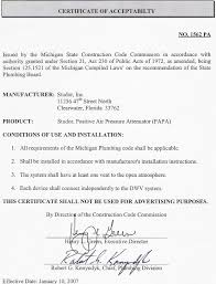 Product Approval Letters Ips Corporation