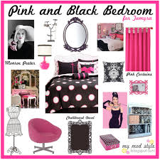 Pink Black Bedroom Cute Bedroom Stuff In Pink Black And White Inspirations