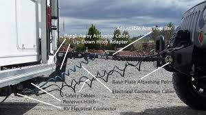 towing a vehicle with your rv rv camping 55999 universal towed vehicle wiring kit at Wiring Tow Vehicle Behind Rv