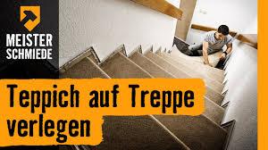 Dein parkett 6.003 views1 year ago. Teppich Auf Treppe Verlegen Hornbach Meisterschmiede Youtube