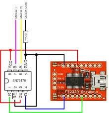 homebrew usb dmx interface sparkfun ft232rl openschemes fig
