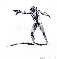 人型ロボット Perming3dcgイラスト素材のイラスト素材 40540189 Pixta