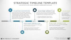 Five Phase Creative Timeline Template