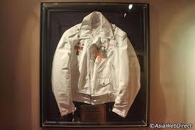 axl rose s white leather jacket