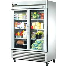 lively commercial beverage cooler glass door