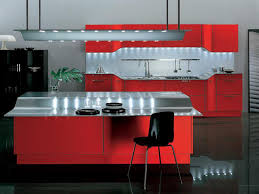 Red And Grey Kitchen Designs How To Choose Kitchen Paint Colors Kitchen Paint Color Open