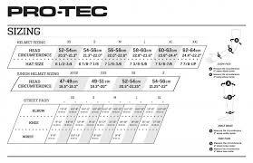 Gear Pro Tec Girdle Size Chart Pro Tec Full Cut Water Helmet Gloss Black