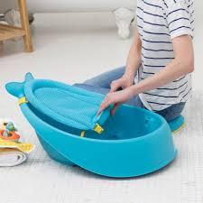 Blue Bathtub amazon skip hop moby bath smart sling 3stage bathtub blue 5627 by guidejewelry.us