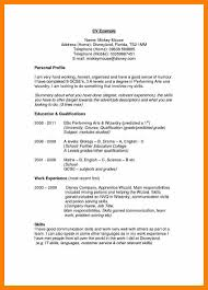 Personal Profile Resume Sample Personal Profile Statement For Resume Examples Krida 22