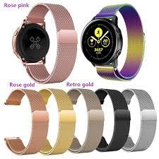 Dây đeo Milanese 20mm cho đồng hồ thông minh Samsung Galaxy Watch Active 2  / Active 1 / Galaxy Watch 42mm