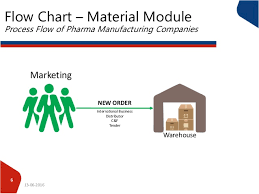 Process Flow Of Pharma Companies