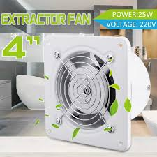 4 25 W Hause Luft Vents Auspuff Fan 220 V Fenster Typ Schweigen