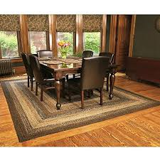 carpet dining room.  Dining IHF Home Decor Country Style Braided Jute Rug Rectangle Area Accent Floor  Carpet 20 Inside Dining Room P