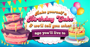 Bake Yourself A Birthday Cake And Well Tell You What Age You