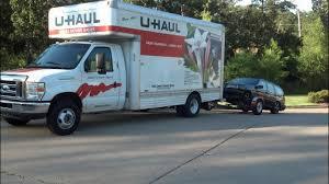 Self Move Using U-Haul Rental Equipment Information