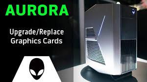Alienware Aurora Yellow Light Alienware Aurora R5 Upgrade Replace Video Card
