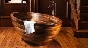buildinvest unique wood design bathtub