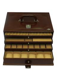 Ikee Design Watch Box Shop Laveri Leather Leather Designer Jewellery Box Online In Dubai Abu Dhabi And All Uae