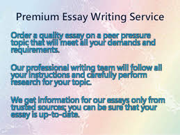 effects of peer pressure essay the effects of peer pressure essay