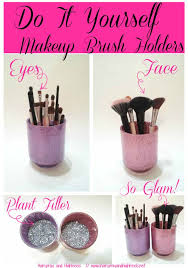 diy makeup organizing ideas makeup brush holders projects for makeup drawer box
