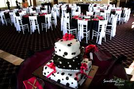 black white and red wedding my