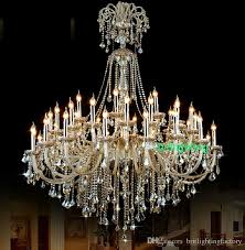nice large chandeliers extra large crystal chandelier lighting entryway high ceiling