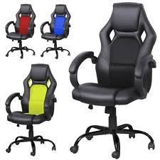 heavy duty executive leather chair. heavy duty executive racing office chair high-back pu leather swivel computer c