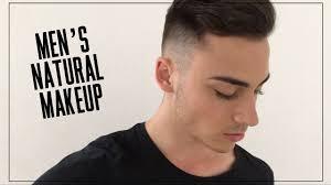 mens natural no makeup tutorial step by step