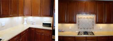 installing undercabinet lighting. after picture of xenon under cabinet lighting installation installing undercabinet