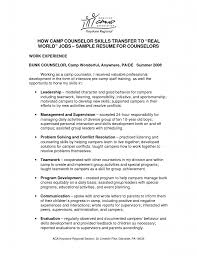 Camp Counselor Job Description For Resume Camp Counselor Job Description  For Resume