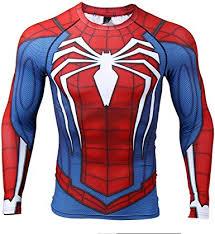 COOLMAX Raglan Sleeve Spiderman 3D Printed T ... - Amazon.com